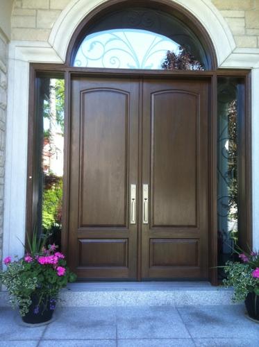8 ft fibreglass doors